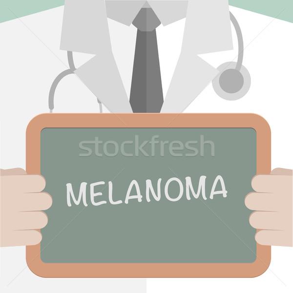 Medici bordo illustrazione medico Foto d'archivio © unkreatives