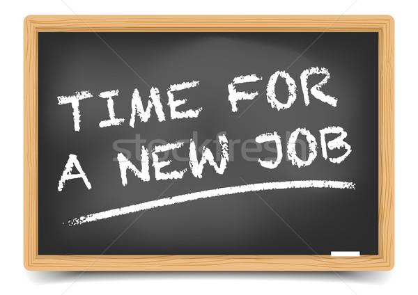 Time new Job Stock photo © unkreatives