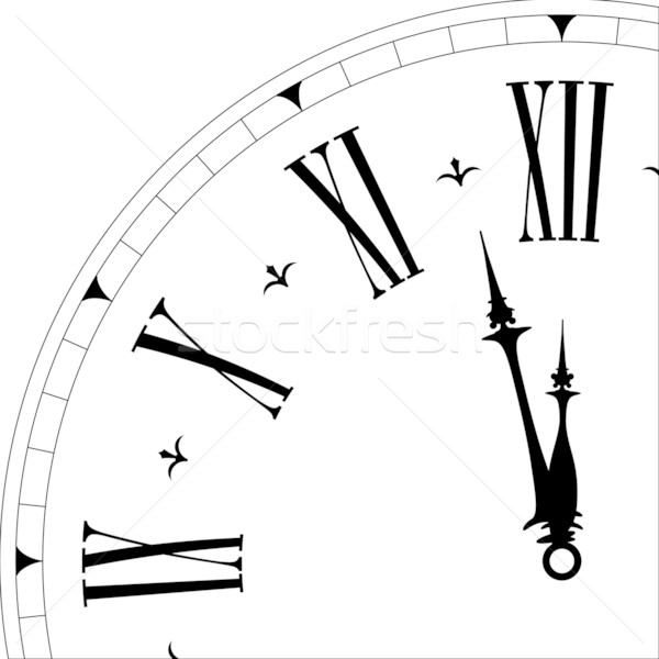 old clock face Stock photo © unkreatives