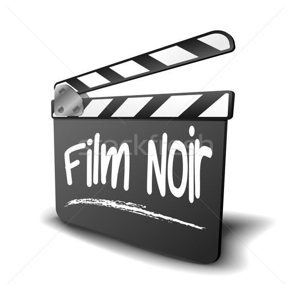 Clapper Board Film Noir Stock photo © unkreatives