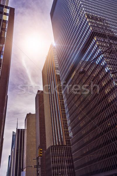 множественный служба towers выстрел футуристический Сток-фото © unkreatives