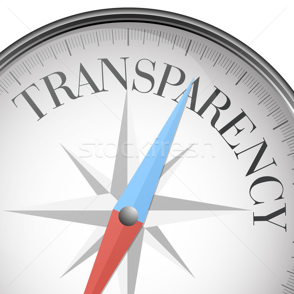 compass transparency Stock photo © unkreatives