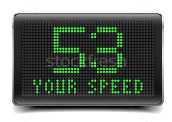 LED Your Speed Stock photo © unkreatives