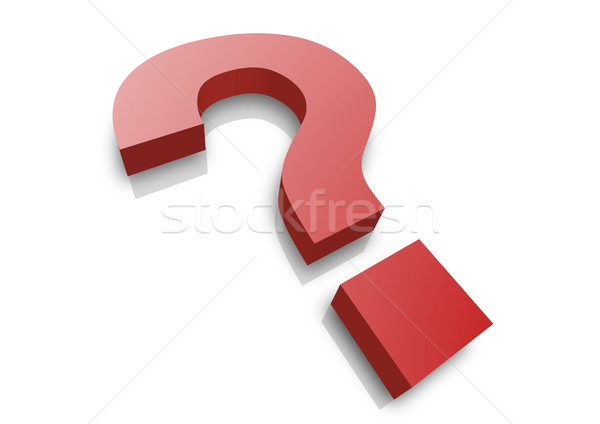 question mark Stock photo © unkreatives