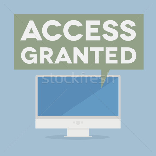 access granted Stock photo © unkreatives