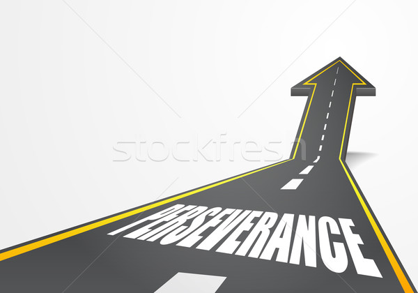 road Perseverance Stock photo © unkreatives