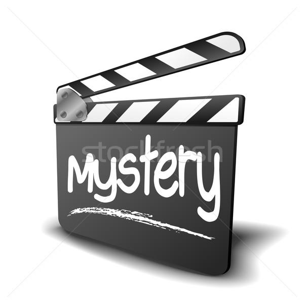 Conselho mistério detalhado ilustração símbolo filme Foto stock © unkreatives