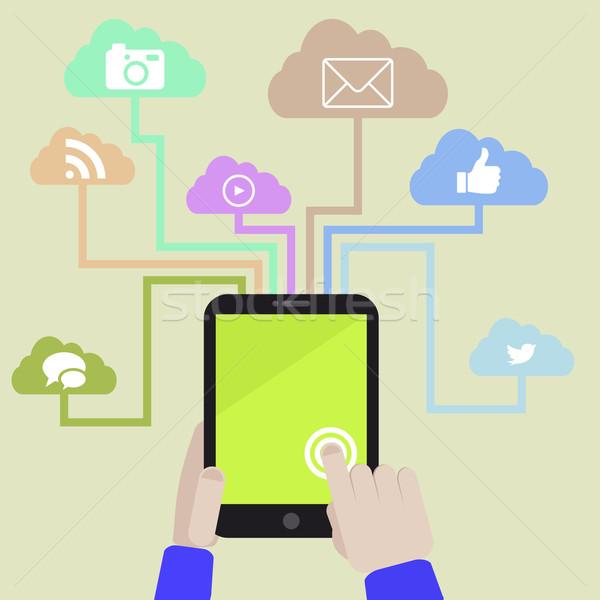 tablet usability Stock photo © unkreatives