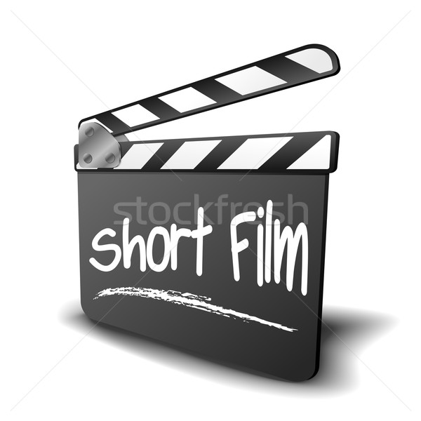 Clapper Board Short Film Stock photo © unkreatives