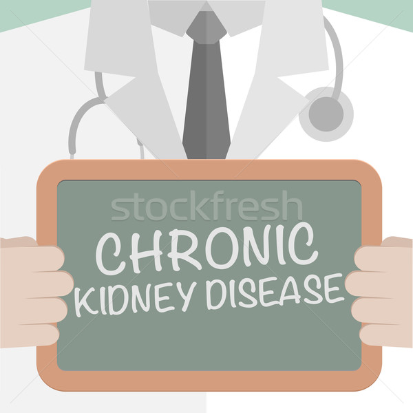 Rene malattia illustrazione medico Foto d'archivio © unkreatives