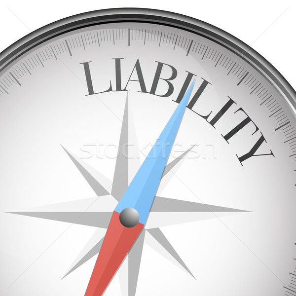 compass Liability Stock photo © unkreatives