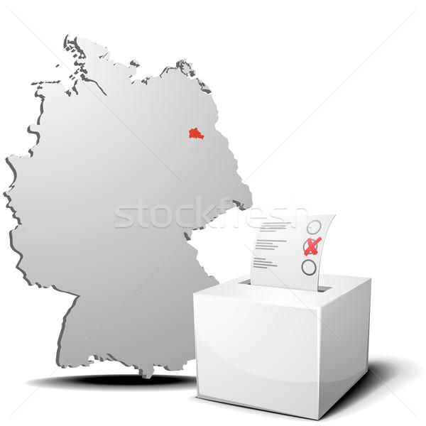 vote germany berlin Stock photo © unkreatives