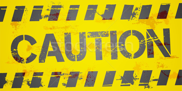 Caution Background Stock photo © unkreatives