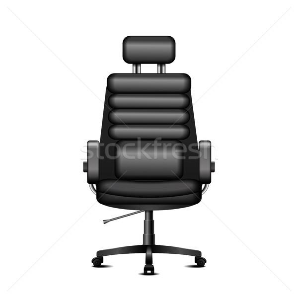 黒 事務椅子 詳しい 実例 eps10 ベクトル ストックフォト © unkreatives