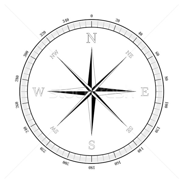 compass rose Stock photo © unkreatives