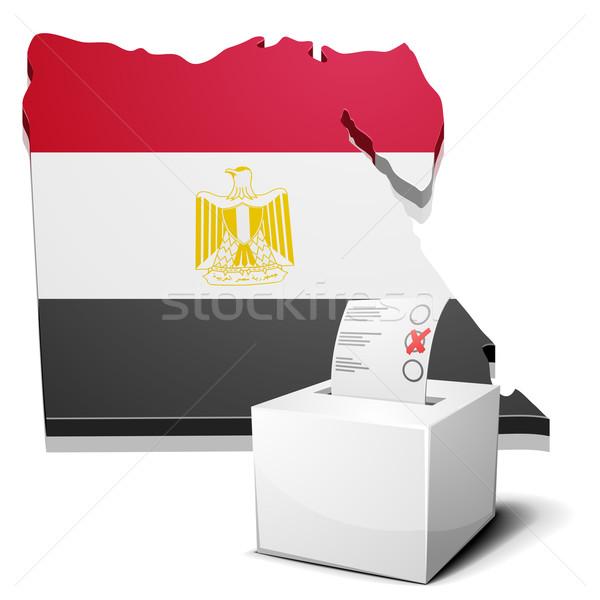 ballotbox Egypt Stock photo © unkreatives