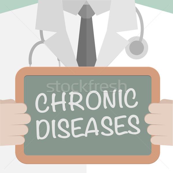 Medical Board Chronic Diseases Stock photo © unkreatives