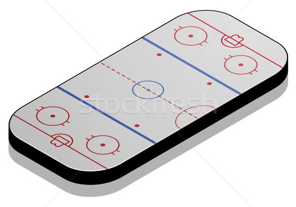 Icehockey Field Stock photo © unkreatives