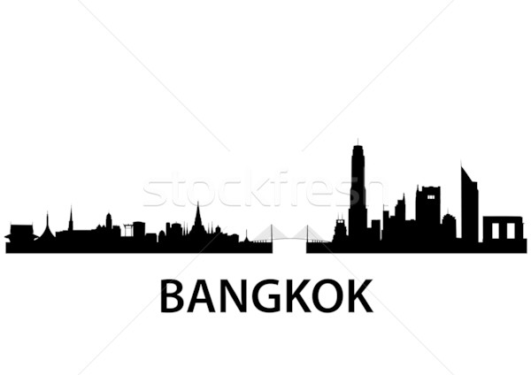 Bangkok Skyline Stock photo © unkreatives