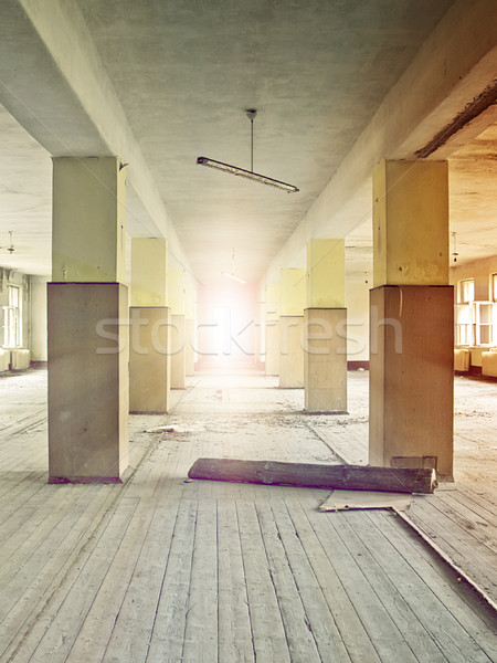 factory floor Stock photo © unkreatives