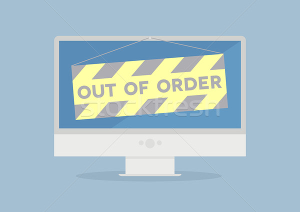 Monitor out of order Stock photo © unkreatives