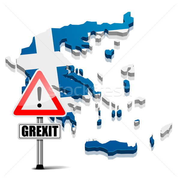 Greece Grexit Stock photo © unkreatives