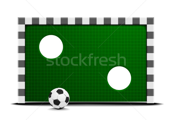 soccer training wall Stock photo © unkreatives