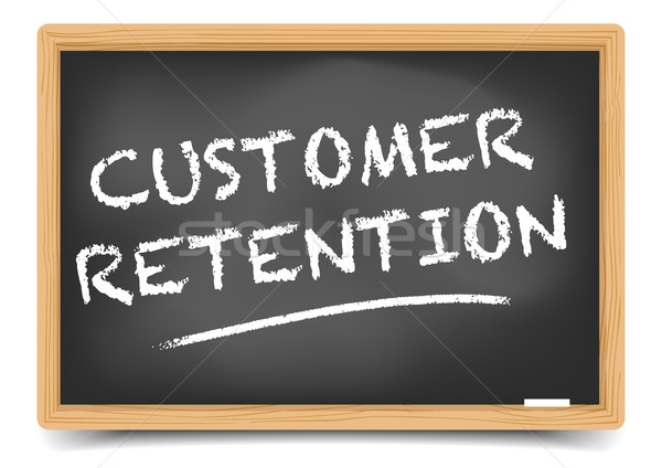 Blackboard Customer Retention Stock photo © unkreatives