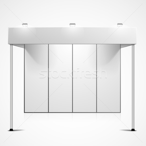 blank exhibition booth Stock photo © unkreatives