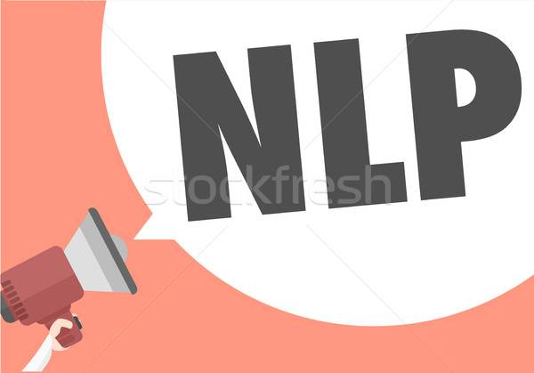 Megaphone Concept NLP Stock photo © unkreatives
