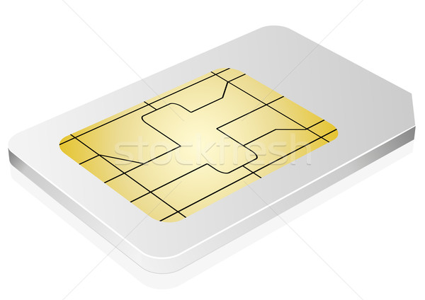 sim card Stock photo © unkreatives