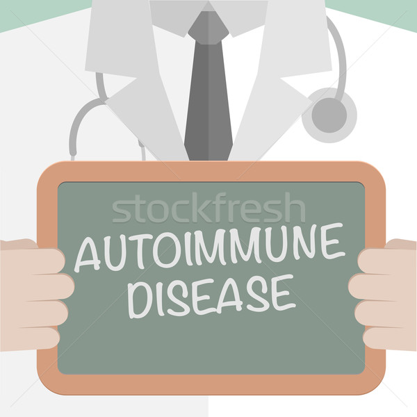 Board Autoimmune Disease Stock photo © unkreatives