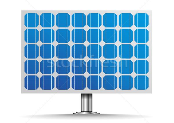 Solar Cell Panel Stock photo © unkreatives