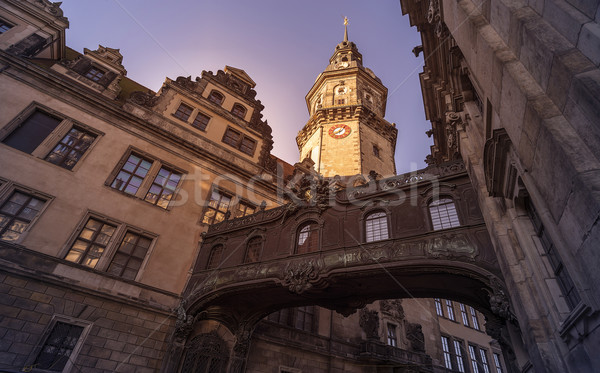 歴史的 建物 ドレスデン 橋 2 建物 ストックフォト © unkreatives