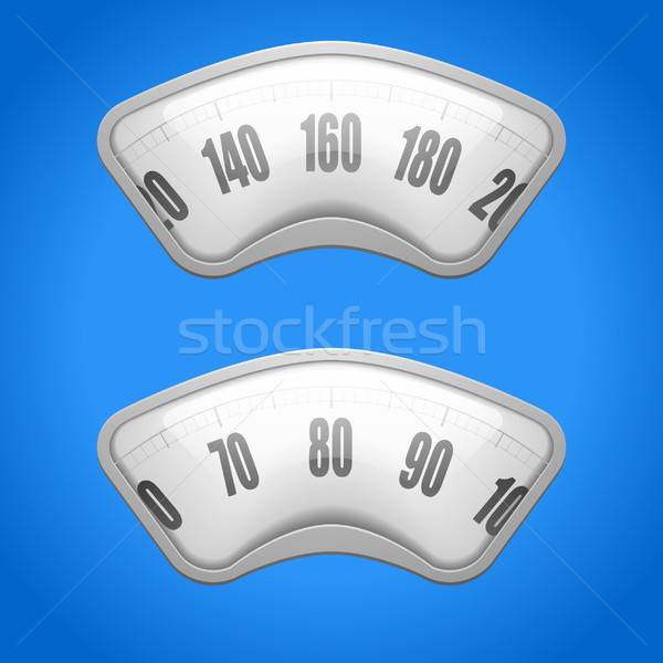 weighing scales Stock photo © unkreatives