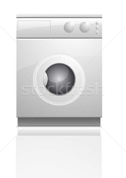 washing maschine Stock photo © unkreatives