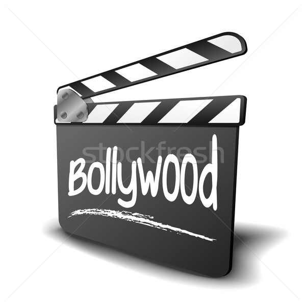 Boord bollywood gedetailleerd illustratie symbool film Stockfoto © unkreatives
