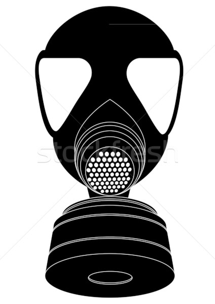 gas mask Stock photo © unkreatives