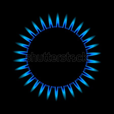gas flame from above Stock photo © unkreatives