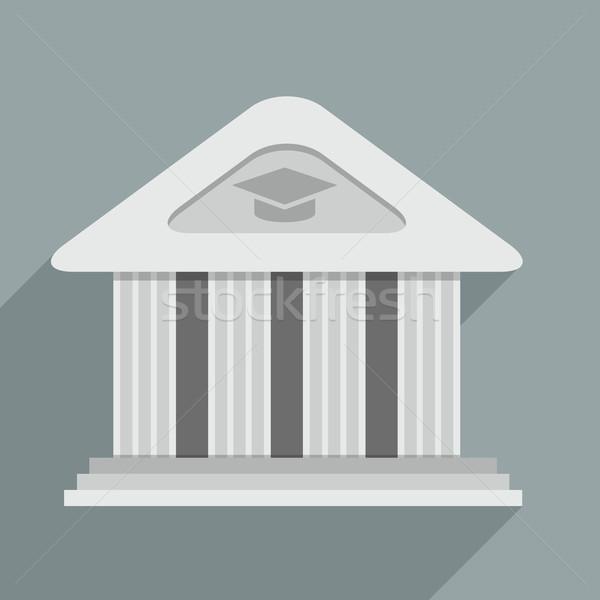 Akademii ilustracja świątyni budynku eps10 Zdjęcia stock © unkreatives