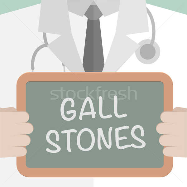 Medical Board Gall Stones Stock photo © unkreatives