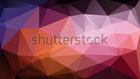 Soyut duvar kağıdı renkli geometrik arka sarı Stok fotoğraf © unweit