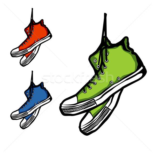 Sneakers Stock photo © unweit