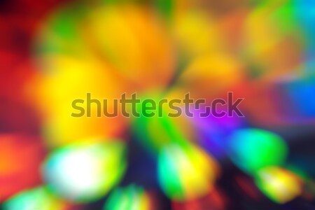 Bulanık renkli soyut arka yatay parlak Stok fotoğraf © unweit