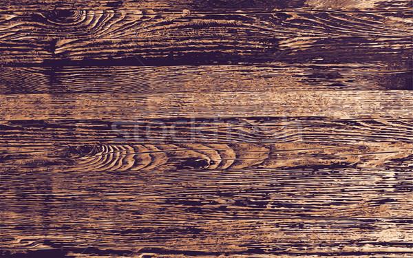 Photo stock: Bois · vecteur · sombre · la · texture · du · bois · couleurs · horizons