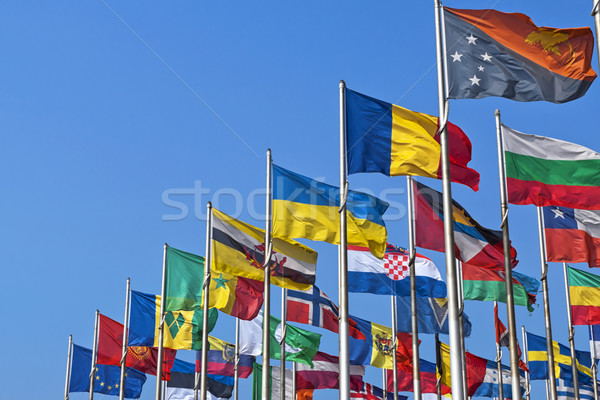 National flags of different country Stock photo © unweit