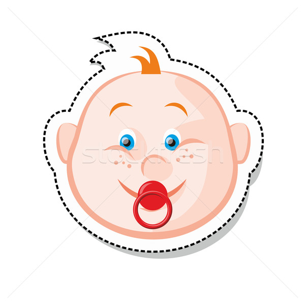 Baby Face Stock photo © unweit