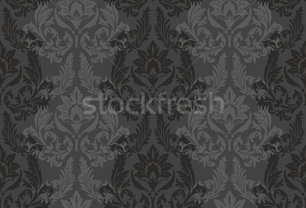 Photo stock: Vintage · vecteur · textiles · design · wallpaper