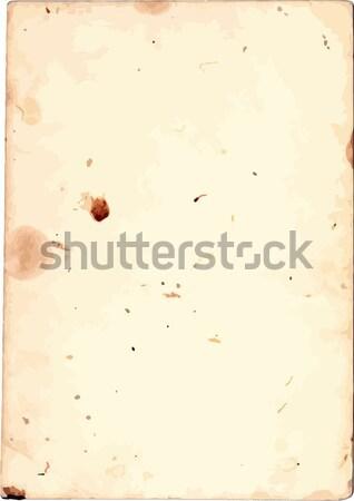 Photo stock: Vieux · papier · texture · grunge · taché · pièce · papier