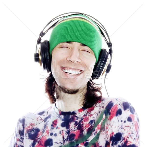 Enjoying His Music Stock photo © UPimages